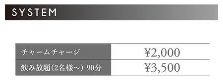 KAGAYAKIの料金システム画像
